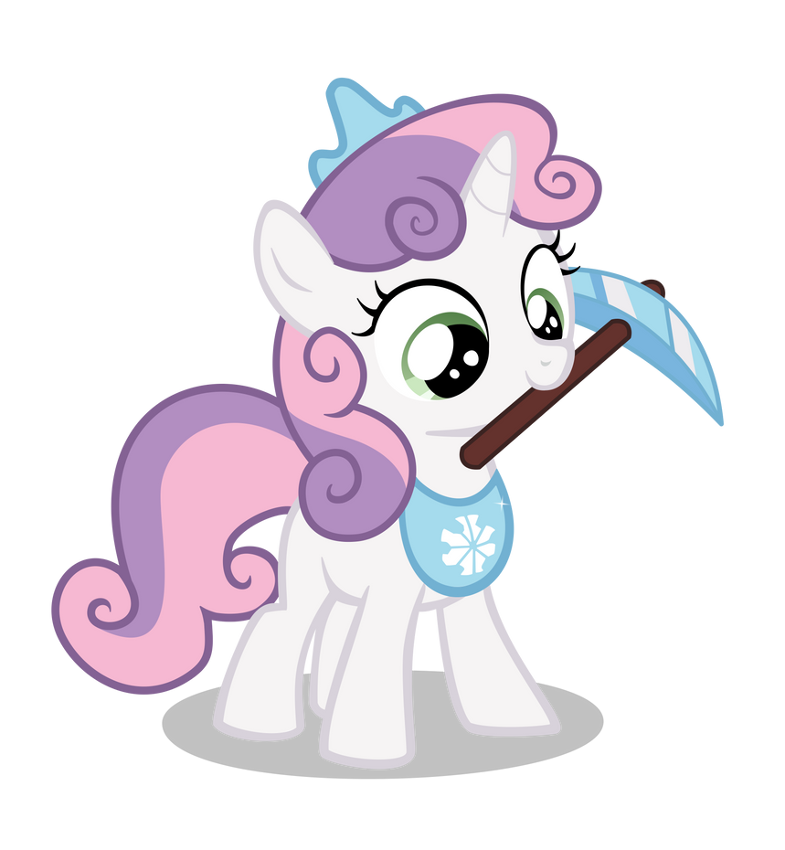 Sweetie Belle goes Mining! by Aitherix