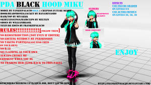 PDA BLACK HOOD MIKU[+DL?]