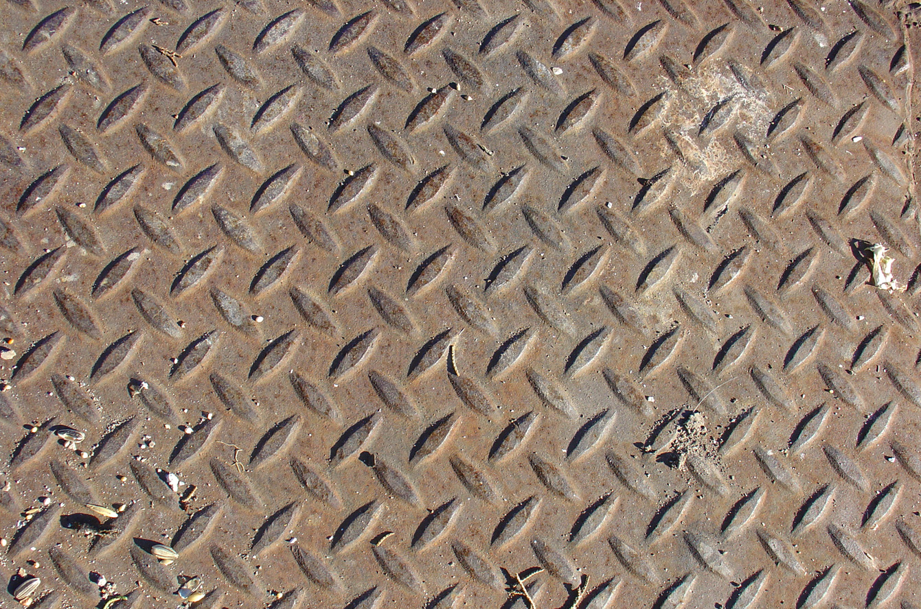 Rusted Diamond Plate