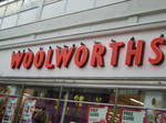 'A bird in the Woolworths'