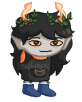 leanf - commision sprite by peachpepsi