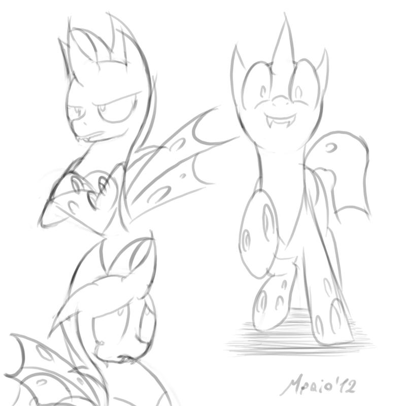 MLP: Reinflak Sketch 2 by SrMario