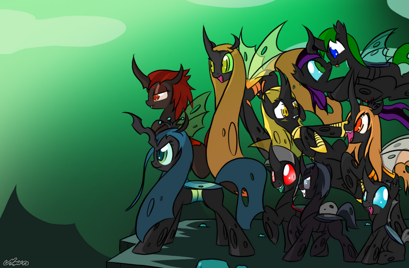 Mlp Changeling Tf: MLP: Looking A New Dawn By SrMario On DeviantArt
