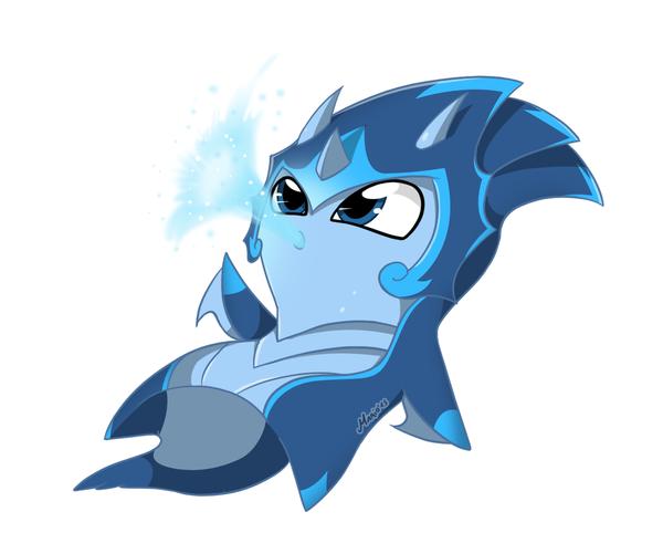 Slugterra: Elemental Slug - Water by SrMario on DeviantArt