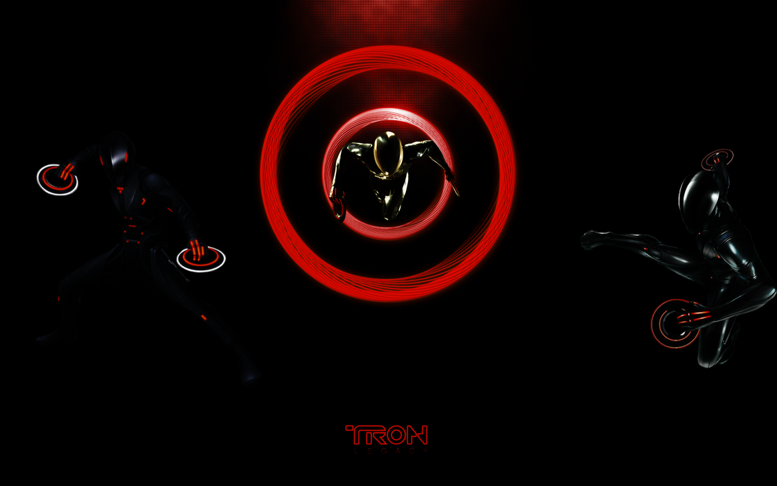 Tron Legacy Rinzler Wallpaper By TheRenegade01