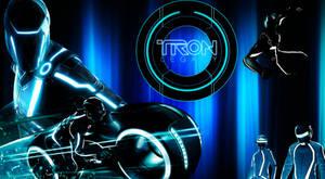 Tron Legacy-Tron Wallpaper