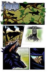 Second page of my webcomic Fabula