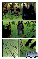 Fifth page of my webcomic Fabula
