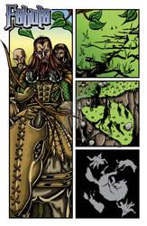 Sixth page of my webcomic Fabula
