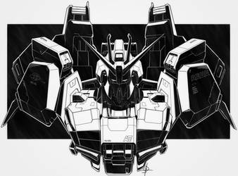 MSZ-006 Z Gundam by DreamsAddiction