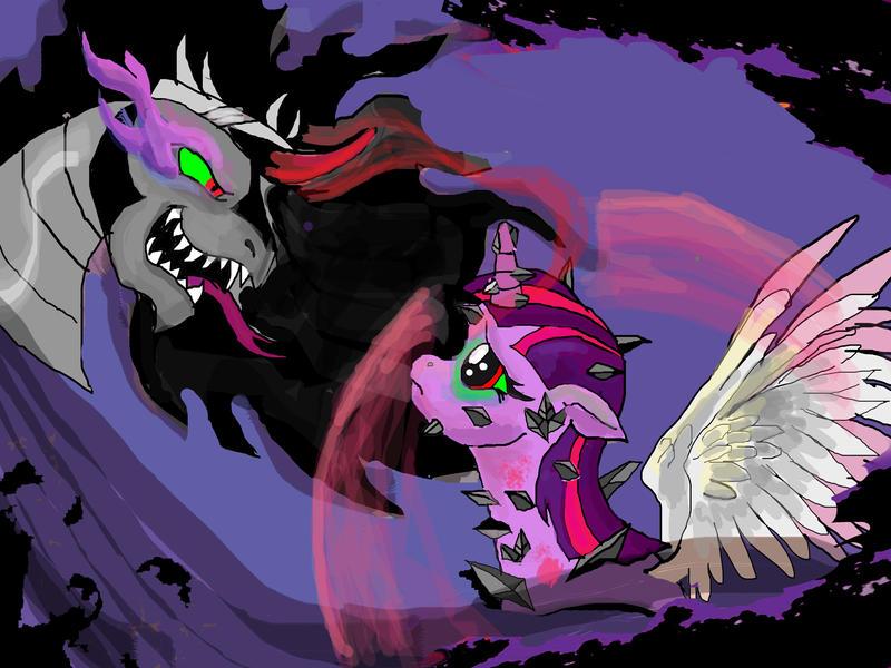 Twilight Sparkle Queen Of Shadows MLP Fan Fic By Raggyrabbit94 On DeviantArt