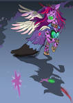 Twilight Sparkle- Queen of shadows, chapter 2