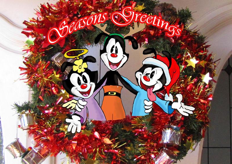seasons greetings animaniacs by raggyrabbit94 - Animaniacs Christmas