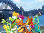 Fraggles Down Under