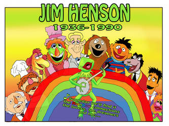 Jim Henson tribute by raggyrabbit94