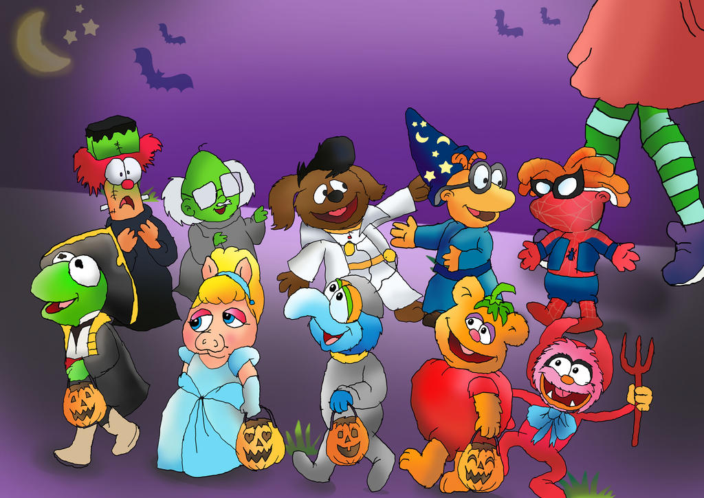 Muppet babies Trick-or-treating by raggyrabbit94 ... & Muppet babies Trick-or-treating by raggyrabbit94 on DeviantArt