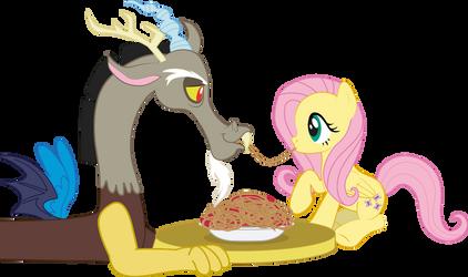 Spagetti dinner by raggyrabbit94