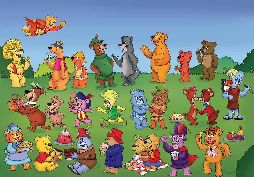 Teddy Bear's Picnic. by raggyrabbit94