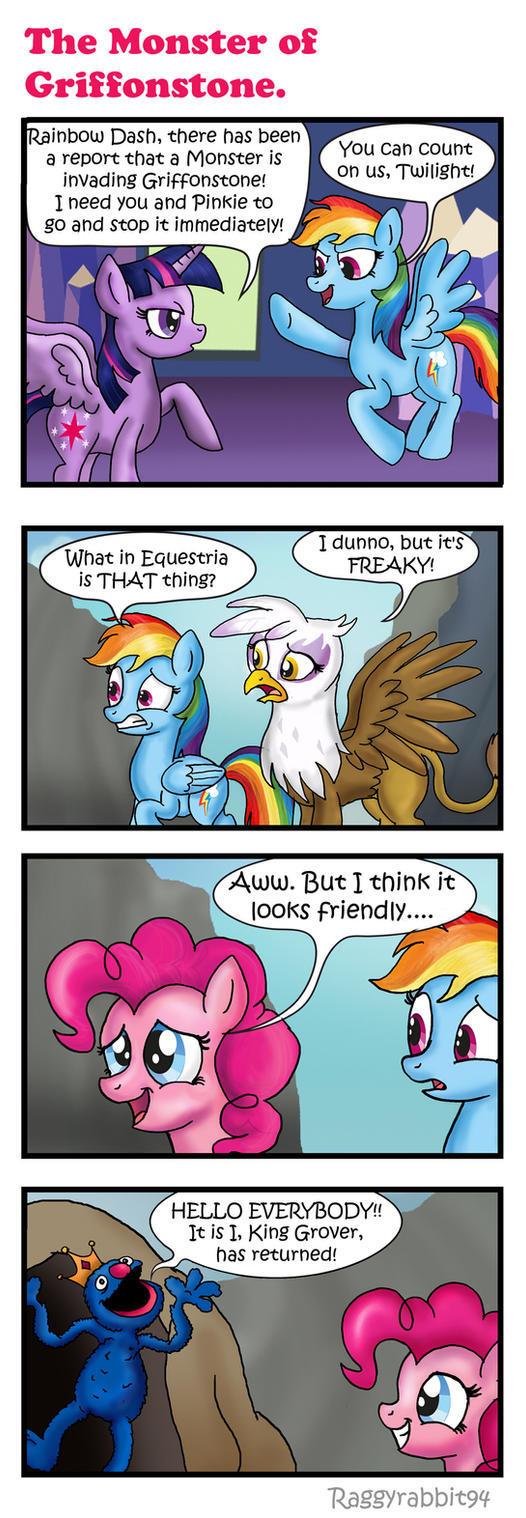 The Monster of Griffonstone. by raggyrabbit94