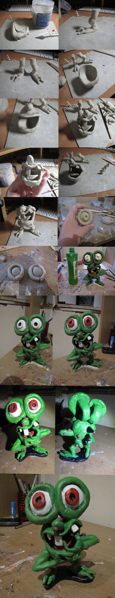 Making Of my Mr Bumpy figure by raggyrabbit94