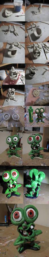 Making Of my Mr Bumpy figure