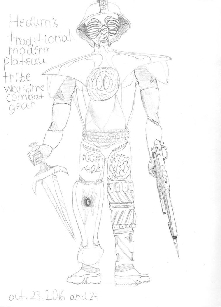Boy in war by AzulLionPanther