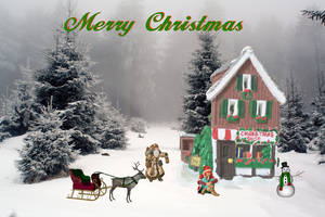 Christmas Shoppe by starlight2infinity