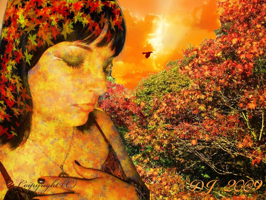 Autumn Princess by starlight2infinity