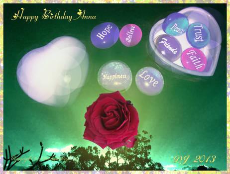 Happy Birthday Anna