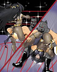 Tharja VS Killer King (Part 1) by KVwrestler