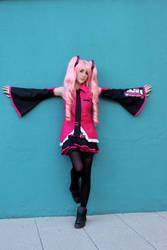Pink Miku Cosplay Vocaloid