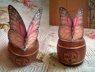 Butterfly greeting card :) by Yullapa
