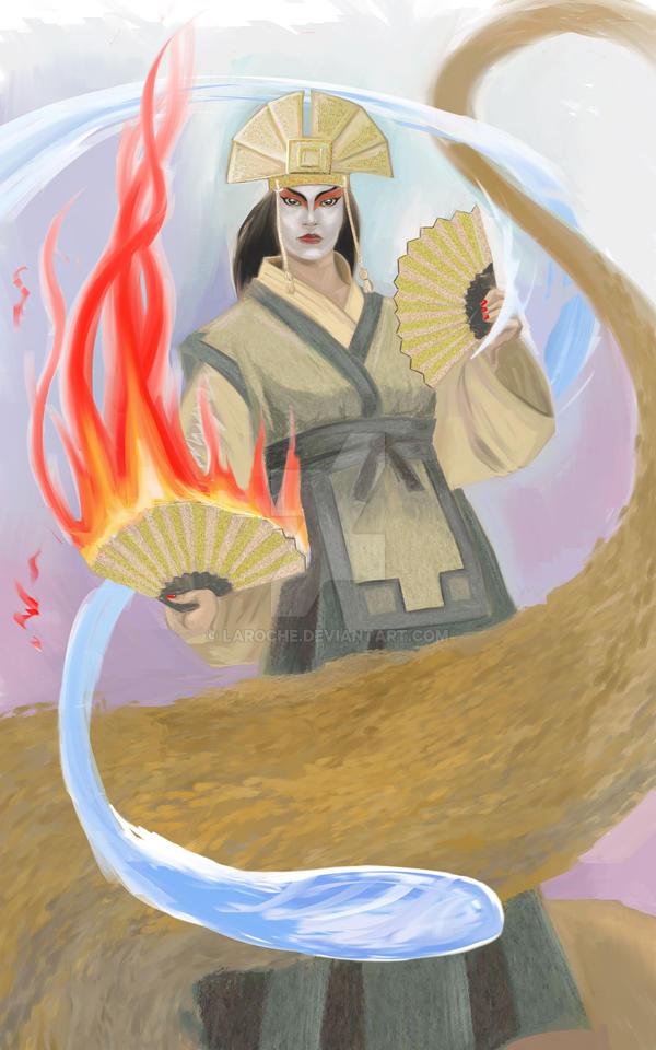 Avatar Kyoshi by Laroche