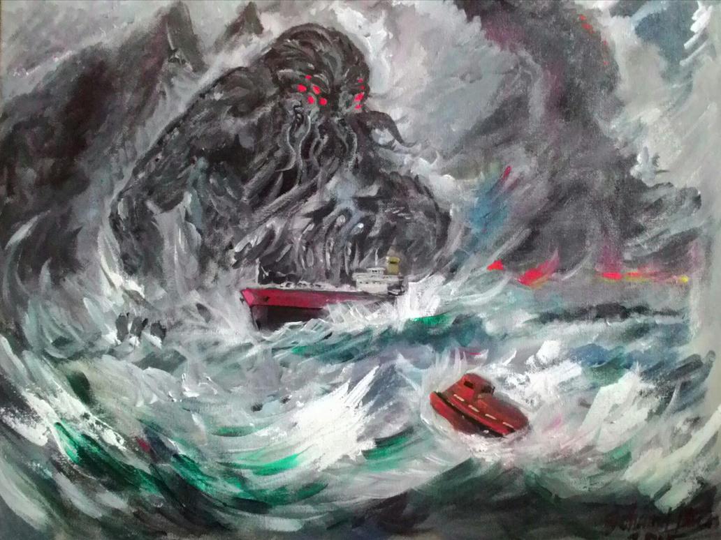 Cthulhu Rising by Laroche