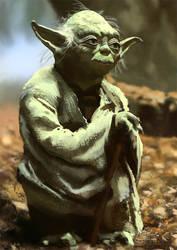 Yoda 'Speed' Paint by TylerTilly
