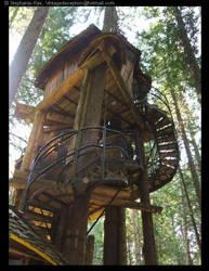 treehouse. by vintagedeception