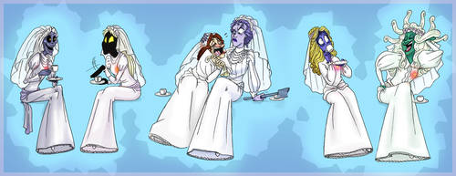 Brides of the Mansion by KellyM-Mortal