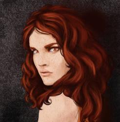 Anya Eiyel: Portrait by Appledore