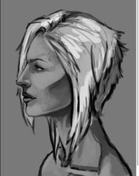 WIP: Lora in Profile by Appledore