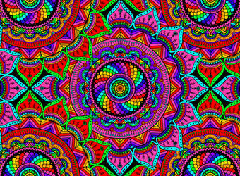 Seventh coloring book picture (Spinners) by Shuey
