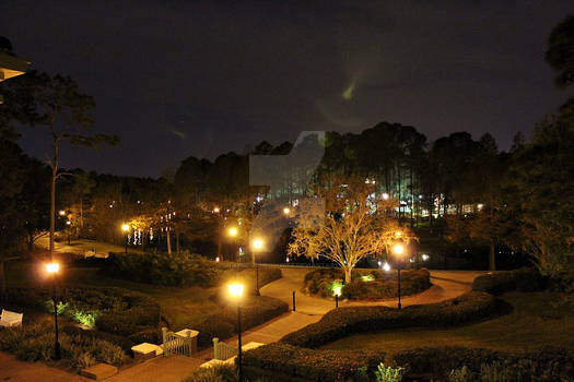 Riverside Nighttime