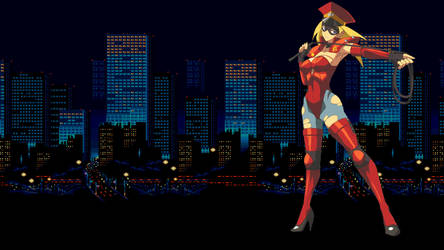 Streets Of Rage - 'New City Police' (Wallpaper)