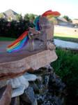 Rainbow Dash Woodwork II by xofox