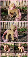 Fluttershy Woodwork V by xofox