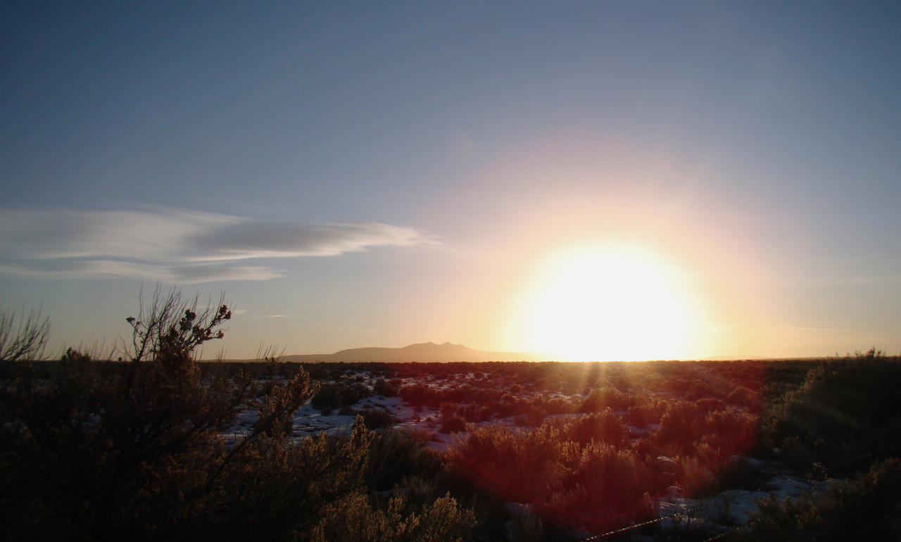 Winter Landscape, Taos by xofox