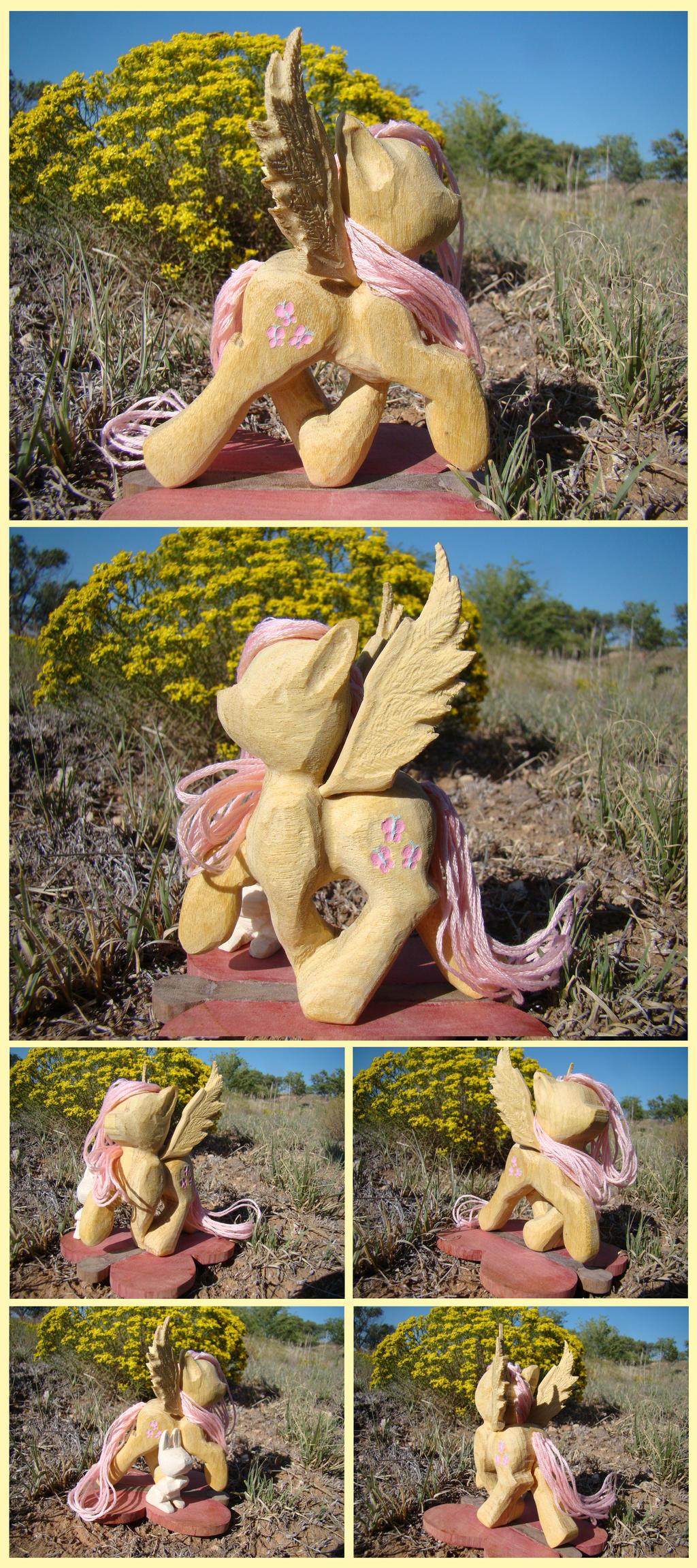 Fluttershy Woodwork: Flutterskip by xofox