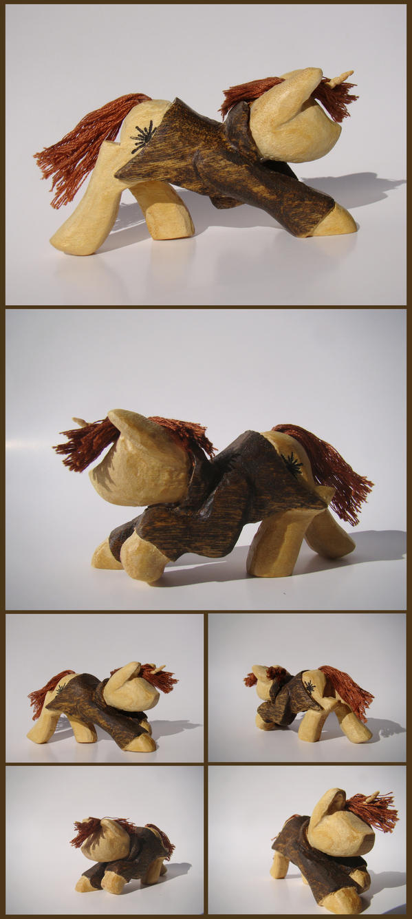 Lucien-OC Woodwork by xofox