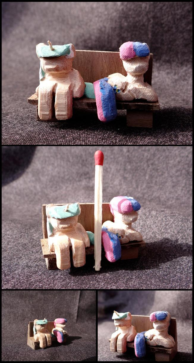 Lyrabon Miniature Woodwork by xofox