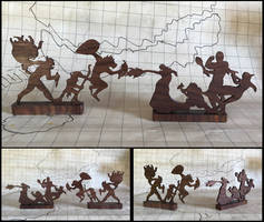 A Dungeons and Dragons Woodwork-Random Encounters