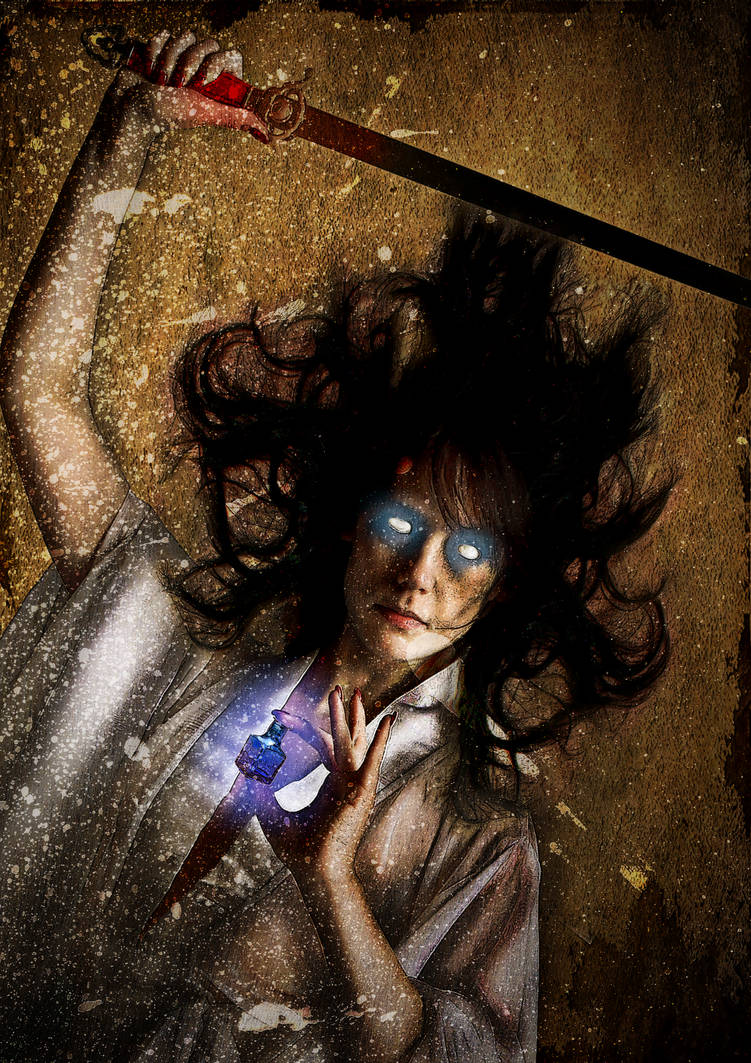 Blind Swordswoman by shamanau
